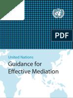 UN Guidance for Effective Mediation
