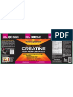 Body Fortress Creatine L067406-AE