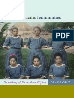 Transpacific Femininities by Denise Cruz