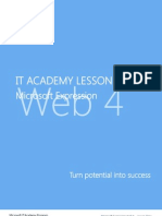 Microsoft Expression Web 4 Lesson Plans