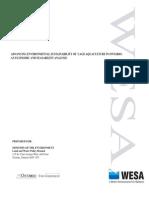 WB7717 Economics of Environmental Technologies for Open Cage Aquaculture - Final Report