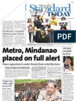 Manila Standard Today - Saturday (October 13, 2012) Issue