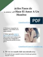 5 Fáciles Pasos de Como Se Hace El Amor a Un Hombre