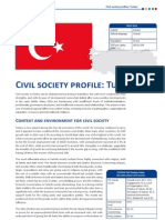 CIVICUS Turkey CountryProfile