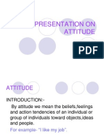 Presentation on Attitude