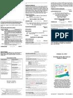 Bulletin - 20121014