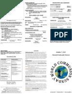 Bulletin - 20121007 Comm