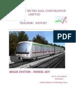 Banglore Metro Rail Corporation-bogie System