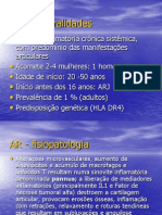 Aula 01 - Artrite Reumatóide