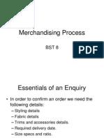 Merchandising Process