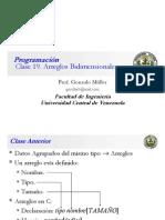 Clase Programación 19