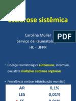 Aula 04 - Esclerose Sistemica