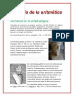 Aritmética en la edad antigua