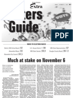 2012 Douglas County Voter's Guide from the Alexandria Echo Press