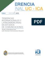 Conferencia Regional UC-ICA 2012