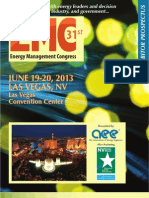 2013 Energy Management Congress West Prospectus