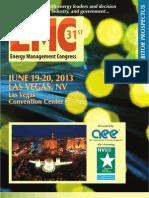 2013 Energy Management Congress West Prospectus