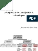 Antagonistas dos receptores β1 adrenérgico
