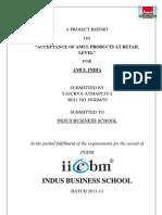 Summer Internship Project ( Amul India )