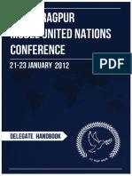 Delegate Handbook, IIT KGP MUN 2012