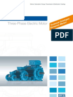 WEG w22 Three Phase Motor Technical European Market 50025712 Brochure English[1]