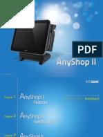 POSBank USA Introduction to AnyShopII, Rev001