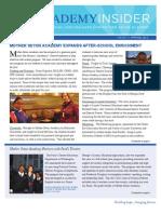 Spring 12 Newsletter