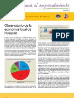 Observatorio de la economía local en Huaycán Mar 2012