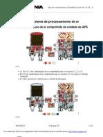 Fluxo de Ar Comprimido Da Unidade Do APS