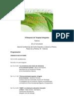 Programacion_simposio-terapias Integrales Valencia
