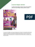Seconde édition de la nuit de l'élégance Africaine