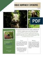 Claro Del Bosque- Rainforest Experience