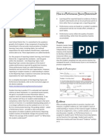 parent brochure for standards-based grading