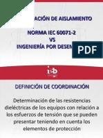 coordinacion de aislamiento norma iec 60071-2 vs ingenieria por desempeño