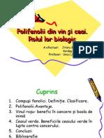 Polifenolii din vin şi ceai