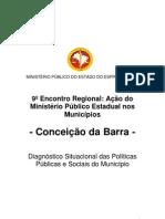 CONCEIÇÃO BARRA MPU ESTUDO MUNICIPIO