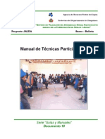 Manual de Tecnicas Participativas
