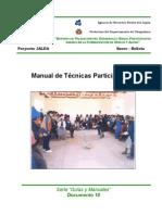 Manual de Tecnicas Participativas
