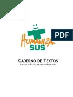 Caderno Textos Cartilhas Politica Humanizacao