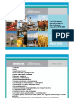 Plan Agroalimentario y Agroindustrial Argentina 2020