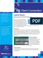 October Edition Newsletter- The Client Connection