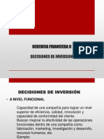 6 Decisiones de Inversion