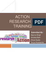 Action Research in Training