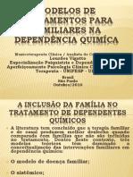 TRATAMENTO DA FAMÍLIA NA DEPENDÊNCIA QUIMÍCA