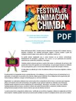 Bases del Concurso de Animación para aficionados 2012. (Festival de Animación Chimba)