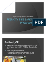 Peer City Bike Safety Programs