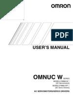 User Manual Servo Motor and Drive i531