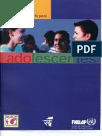 Manual de Consejeria Para Adolescentes
