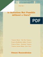 Is Salvation Not Possible Without a Guru - Swami Ramsukdas ji
