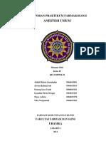 Laporan Farmakologi Anestesi Umum